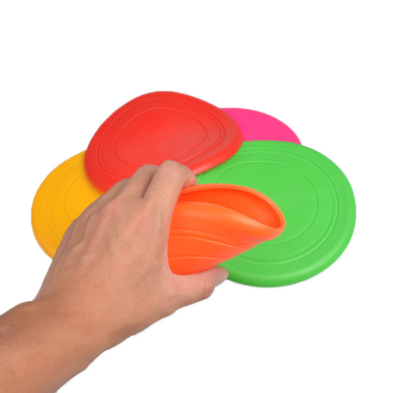 Nicht verletzende Hot Selling Silicone Pet Plate Flying Disc
